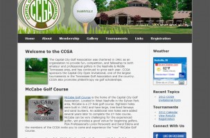 Capital City Golf Association Website